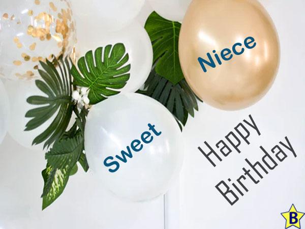 Happy Birthday sweet Niece Images