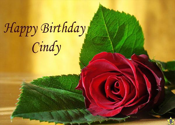 Happy birthday cindy pics
