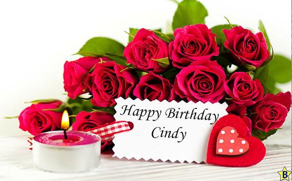 Happy birthday cindy pictures