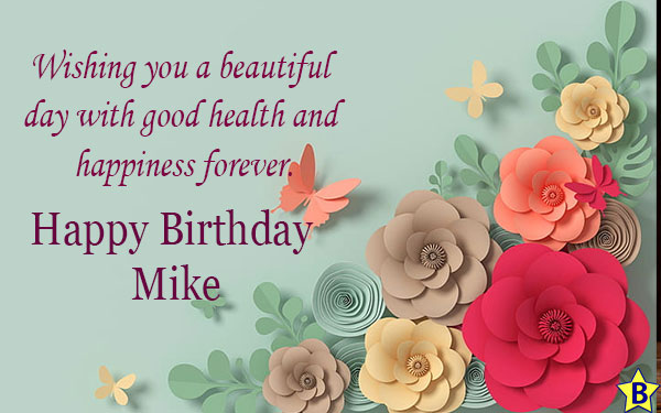 Happy birthday mike clipart