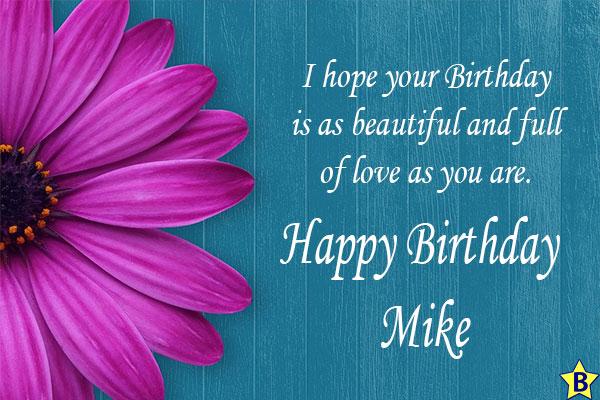 Happy birthday mike quotes
