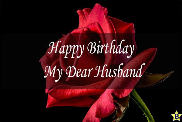 Happy birthday rose images husband