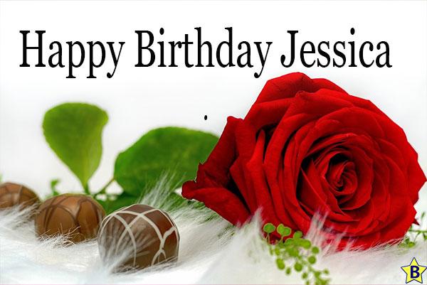 Happy birthday rose images jessica