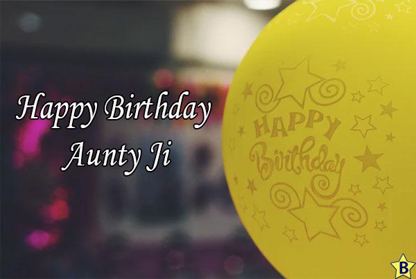 Hppy birthday Aunty ji