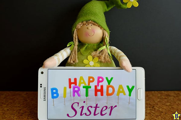 funny happy birthday sister images