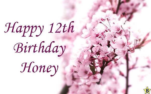happy 12th birthday honey
