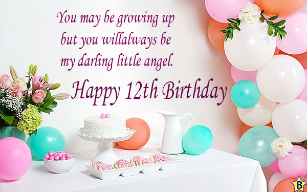 happy 12th birthday quotes for daughter