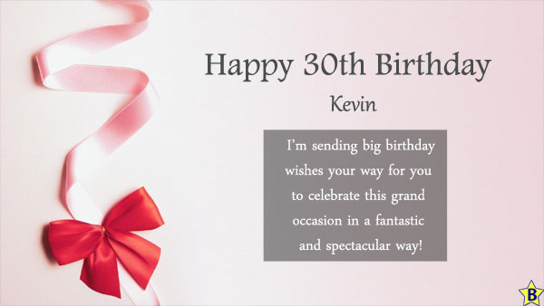happy 30th birthday images kevin
