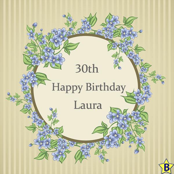happy 30th birthday images laura