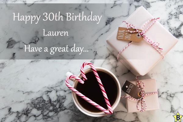 happy 30th birthday images lauren