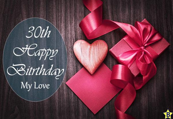 happy 30th birthday images my-love