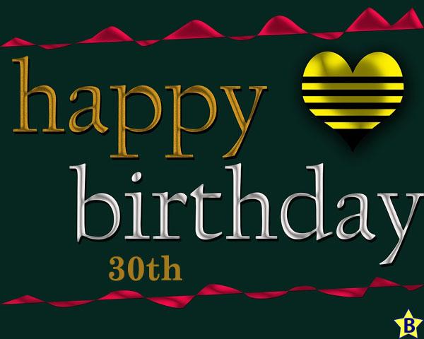 happy 30th birthday images