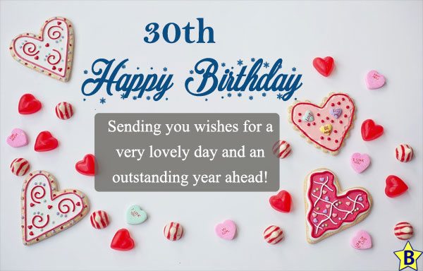 happy 30th birthday messages