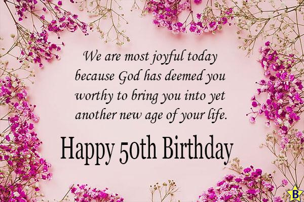 happy 50th birthday religious images