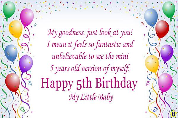 happy 5th birthday balloons