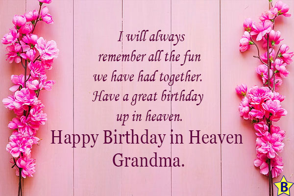 happy 90th birthday in heaven grandma