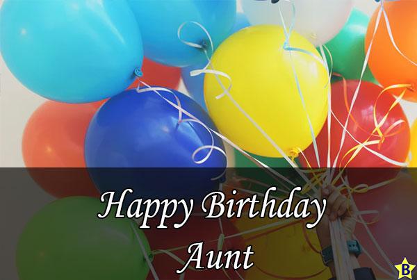 happy birthday aunt images