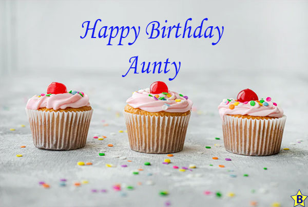 happy birthday aunty images for mobile