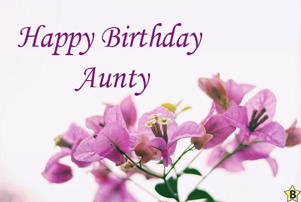 happy birthday aunty picture