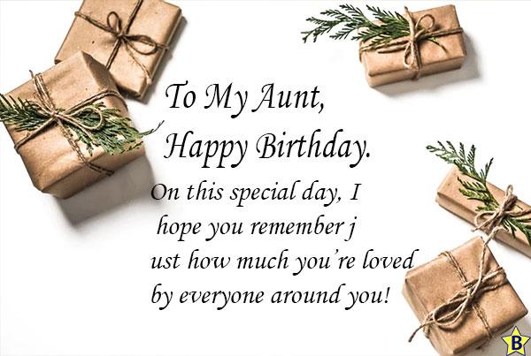 happy birthday aunty quotes