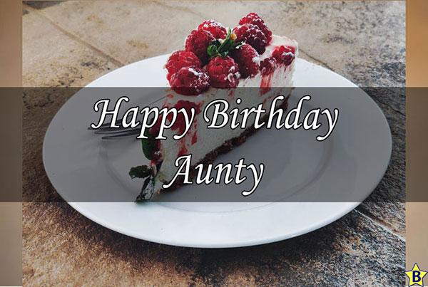 happy birthday aunty wishes