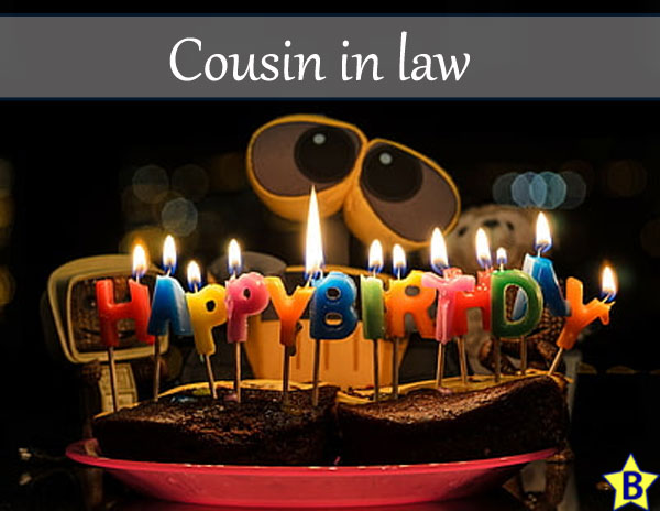 happy birthday cousin in law images