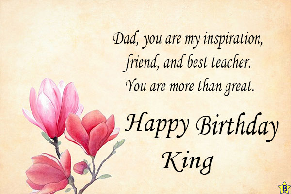 happy birthday dad king images