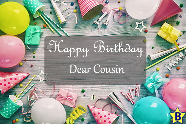 happy birthday dear cousin images
