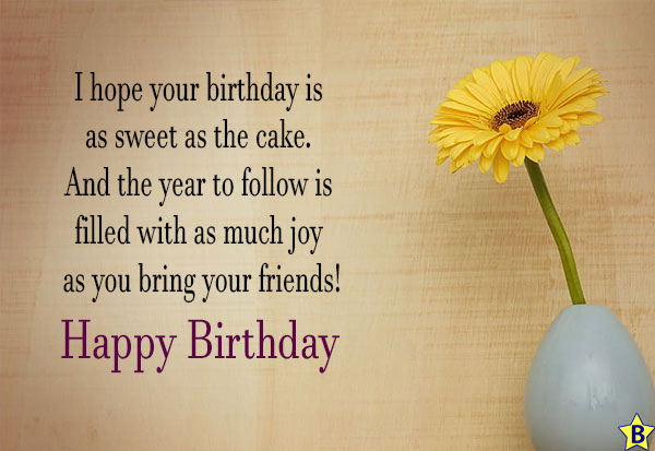 happy birthday friend images with sunflowers
