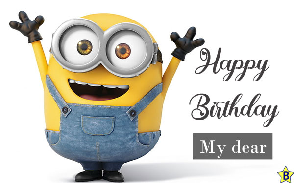 happy birthday funny images minions
