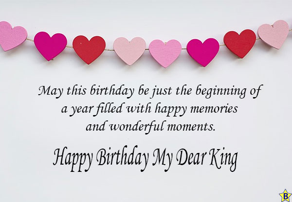 happy birthday king Quotes