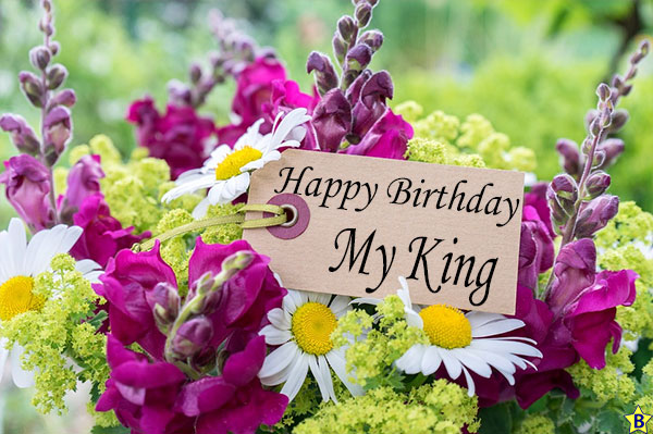 happy birthday king pic