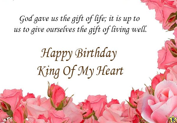 happy birthday ling of my heart images