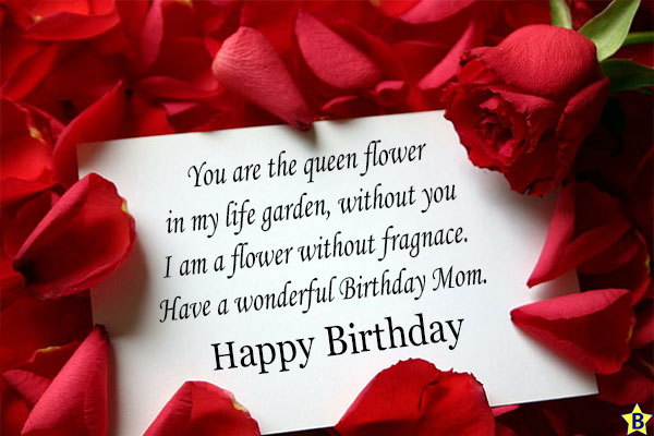 happy birthday mom greeting