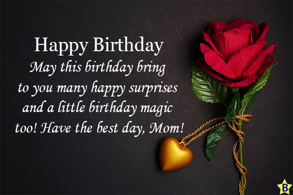 happy birthday mom images for whatsapp