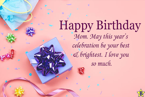 happy birthday mom message