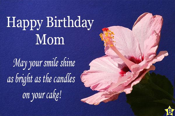 happy birthday mom quotes short