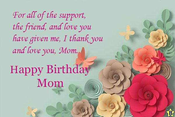 happy birthday mom thank you