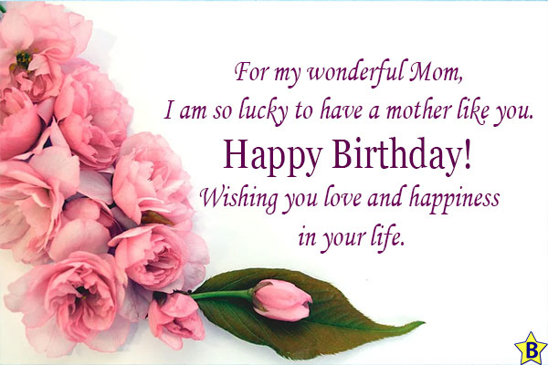 happy birthday mom wishes from daughter