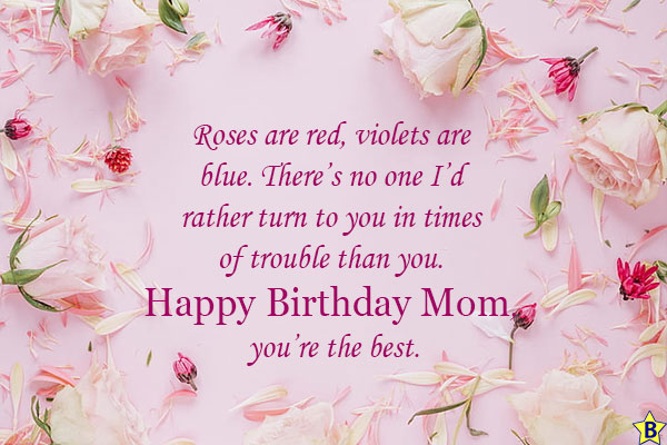 happy birthday mom you are the best