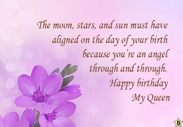 happy birthday queen massages