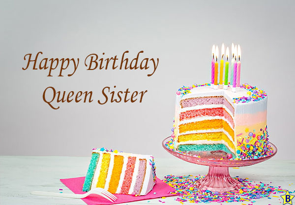 happy birthday queen sister images