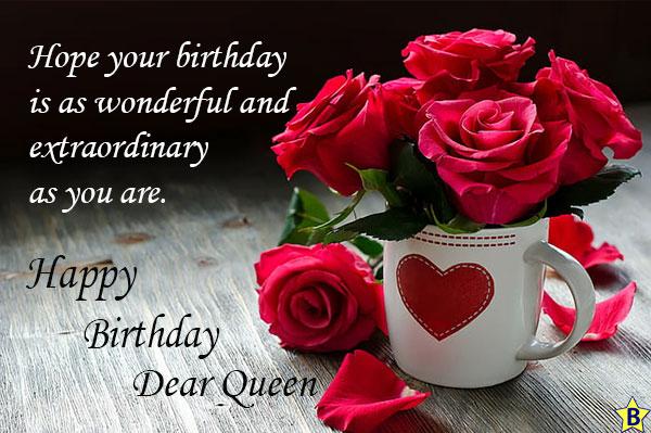 happy birthday queen status for mobile