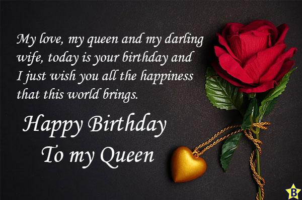 happy birthday queen status