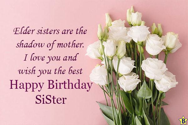 happy birthday quotes Elder sister