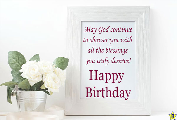 happy birthday religious Picture