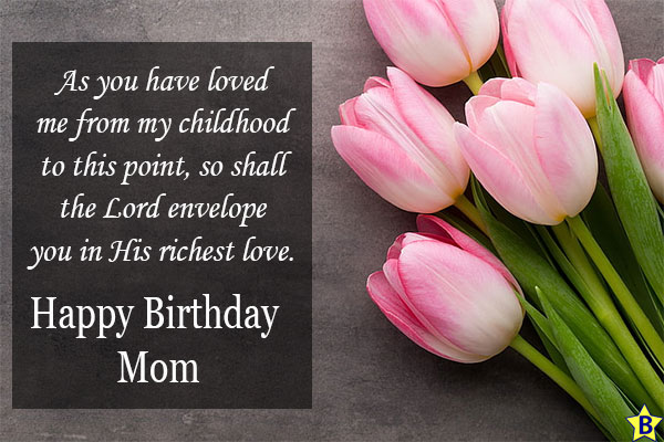 happy birthday religious images for mom