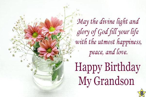 happy birthday religious images grandson