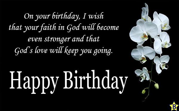 happy birthday religious messages