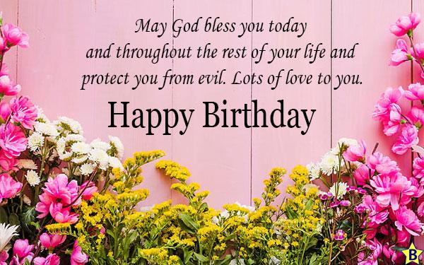 happy birthday religious prayer images